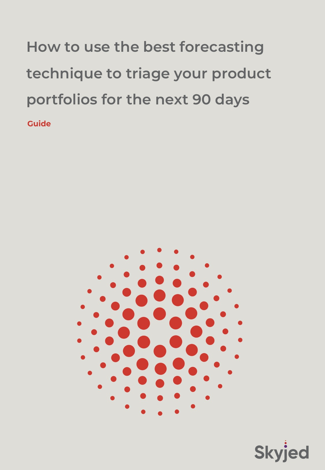 A better way to forecast and triage your product portfolios for the next 90 days