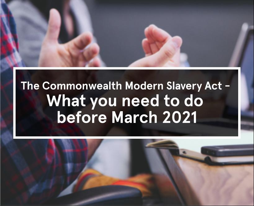 Commonwealth Modern Slavery