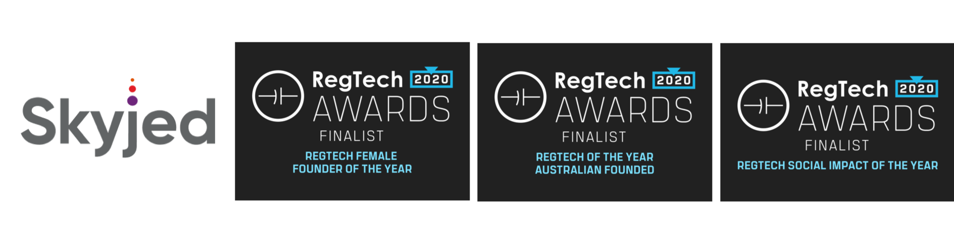Skyjed in the Regtech 2020 Awards